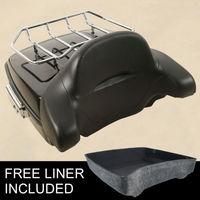 Tour Pak Trunk Luggage Rack Backrest For Harley Touring Road King Street Glide FLHR FLHX FLTR