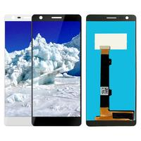 5.1 ''1440x720 Para Nokia 3.1 TA 1049 TA 1057 TA 1063 TA 1070 telas de TA 1074 Screen Display LCD de Toque Digitador Peças de Reparo LCDs de celular    -