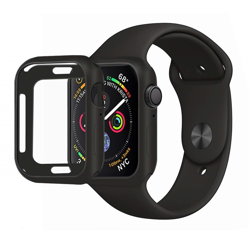 Series 3 42mm 38mm Cases for Apple Watch Series 4 40mm 44mm Case Protector Ultra-Thin Soft Silicone Protective Cover for iWatch