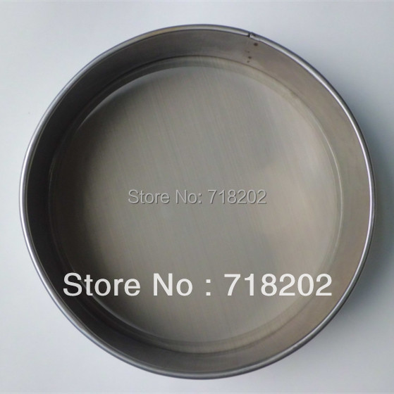 R15cm*5cm stainless steel test sieve standard test sieve laboratory sieve( 10micron5micron)--hand made with welding point