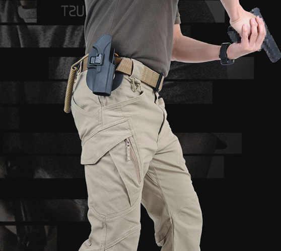 TAD taktyczny spodnie IX9 mężczyzna wojskowy walki wycieczka na zewnątrz SWAT Hunter pociąg armii spodnie 97% bawełna 3% elastan zamek błyskawiczny YKK