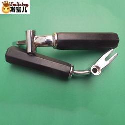 Smile Boy аппарат для приготовления мороженого ручки для машины для мороженого ручки бытовой техники из нержавеющей стали 1 шт. для космоса