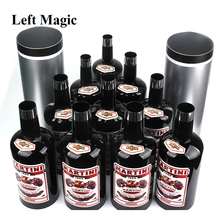 лучшая цена Multiplying Bottles 10 Bottles Black ( Poured Liquid) Magic Trick Stage Magic Props Close Up Mentalism Illusion Classic Toy H903
