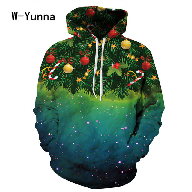 2017 Newest 3D Print Christmas Halloween Skull Theme Pullover Hoodies for Women/men Causal Loose Plus Size Sweatshirts Femme 5