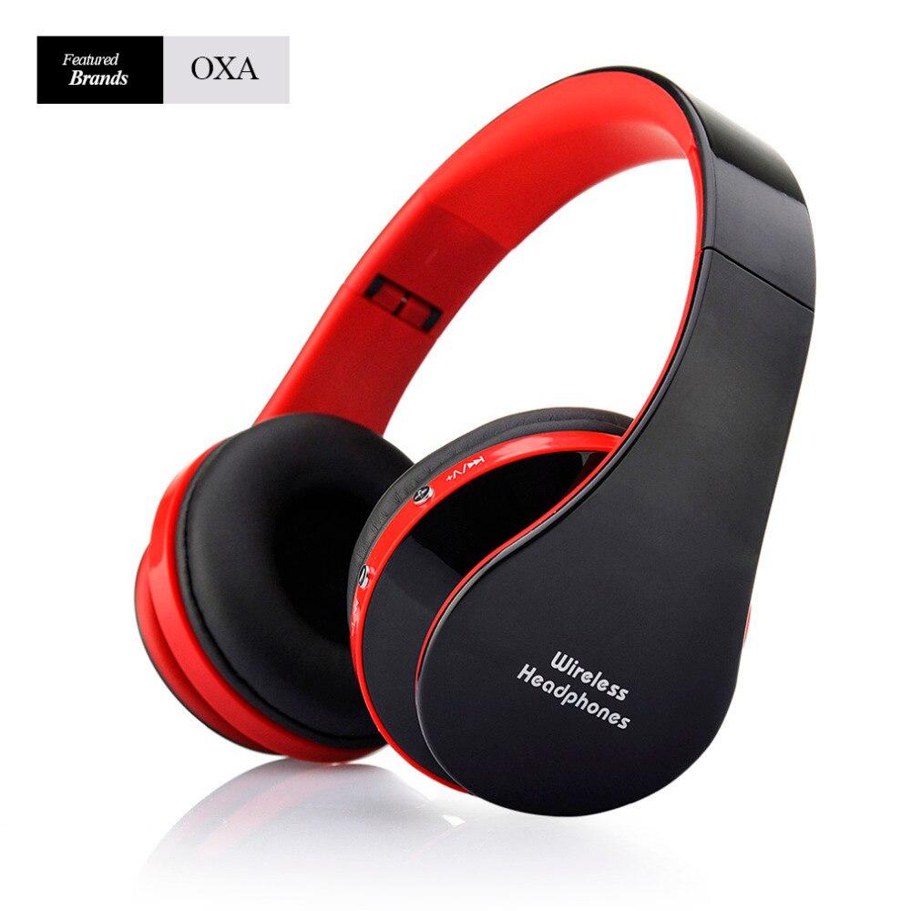 Oxa nx-8252 audio estéreo mp3 auricular bluetooth auriculares inalámbricos auric