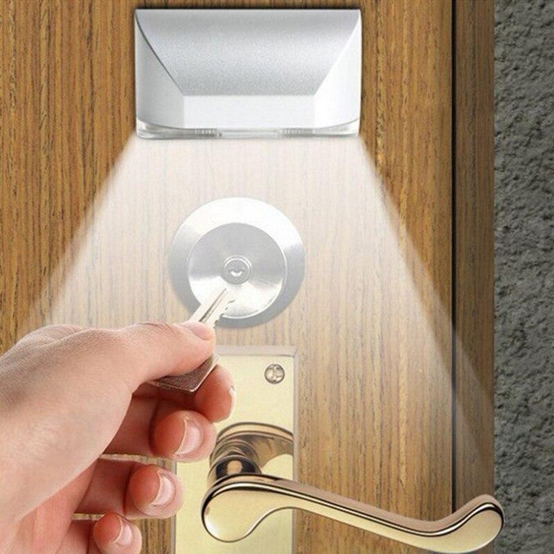 Luzes da Noite o furo chave/fechadura da porta Formato : Square