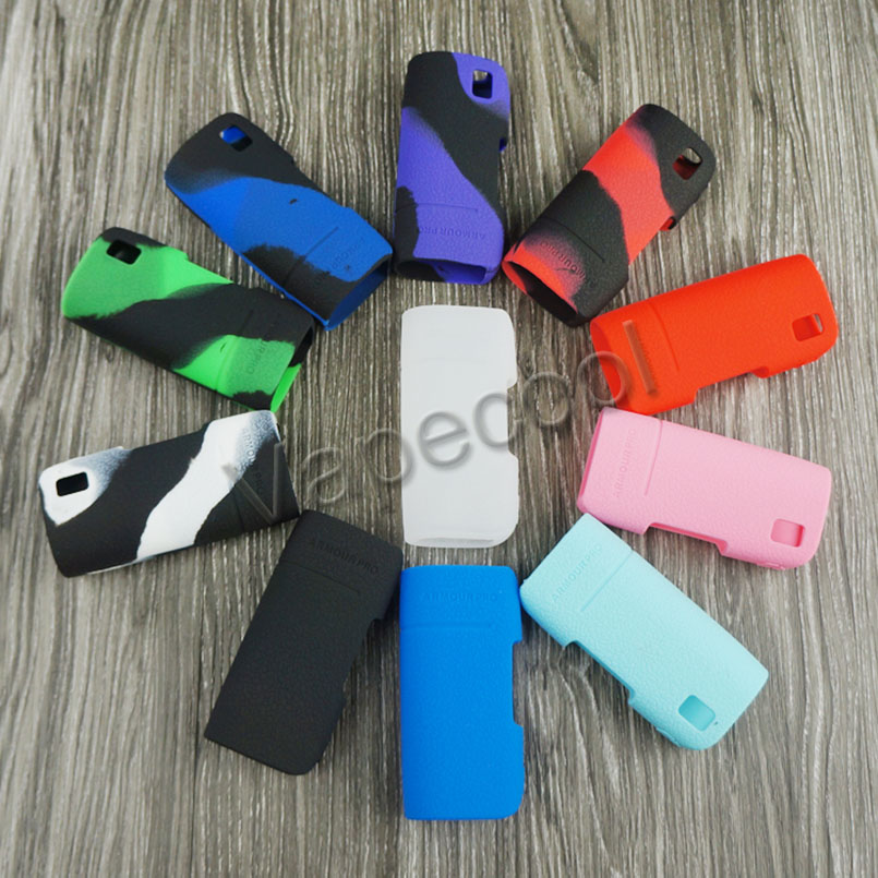 10pcs Silicone cover for Vaporesso Armour Pro 100W vape case rubber Skin Warp Sticker Sleeve shell