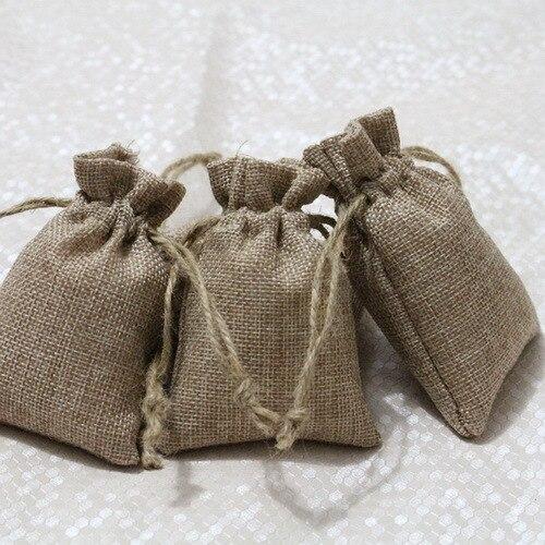 jute cordon jute comme petit cm de sacs pochettes 9X12 d naqxOgFXwS