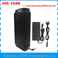 Free Customs Fee 48V 18AH Ebike Battery 48V 18AH Lithium Ion Battery Pack With Tail Light