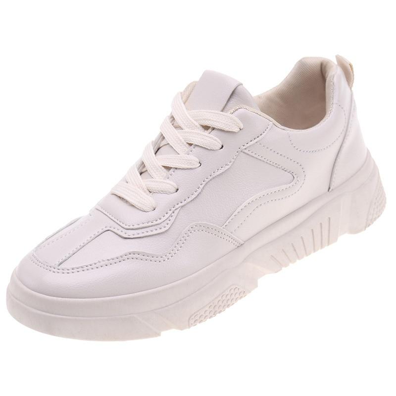 Royaume-Uni disponibilité les mieux notés nouveau sommet € 12.56 60% de réduction Chaussures pour femmes 2019 printemps nouvelles  petites chaussures blanches femmes sauvage étudiant chaussures  décontractées ...