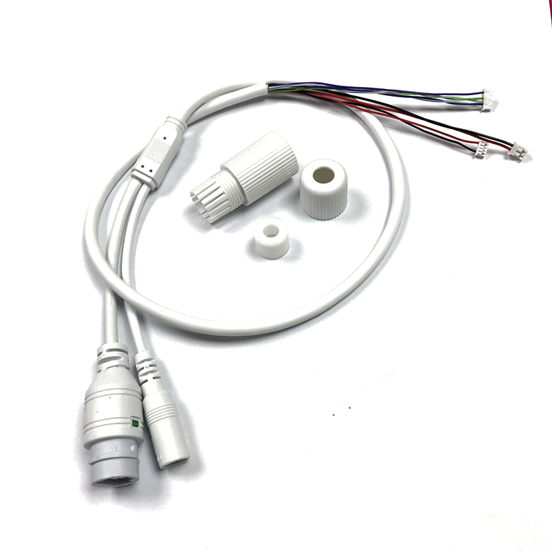 Pigtail-Cable Ip-Camera Cctv-Network-Cable Waterproof Connector RJ45 for Module Board