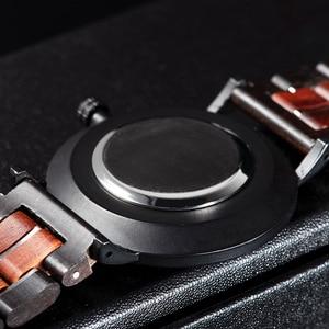 Image 5 - レロジオ masculino 2020 ボボ鳥男性クォーツ腕時計木製腕時計時計ギフト木箱 V S19