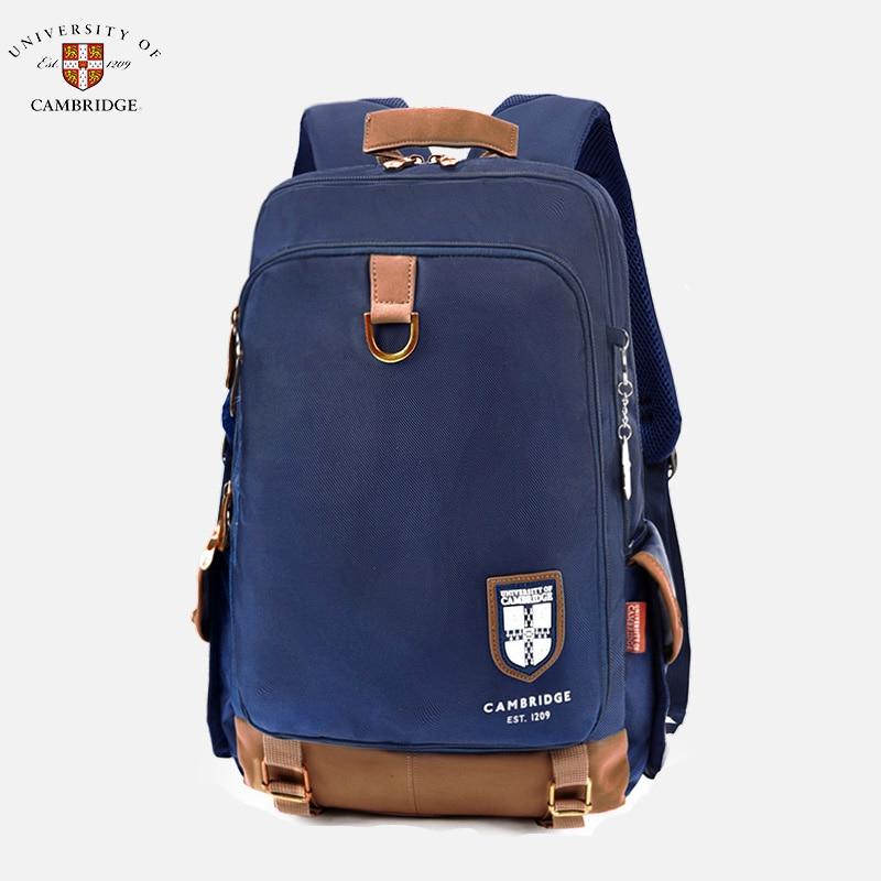 UNIVERSITY OF CAMBRIDGE, dla dzieci/dzieci podstawowej torba szkolna książki Plecak na ramię portfolio dla chłopców klasy 4 6 w Torby szkolne od Bagaże i torby na  Grupa 1