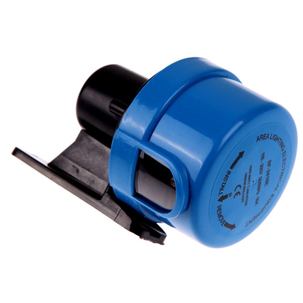 AC105-305V Light Sensor Switch Worldwide Photocell Timer Light Switch Daylight Dusk Till Dawn Auto Light Switch Energy Saving 17