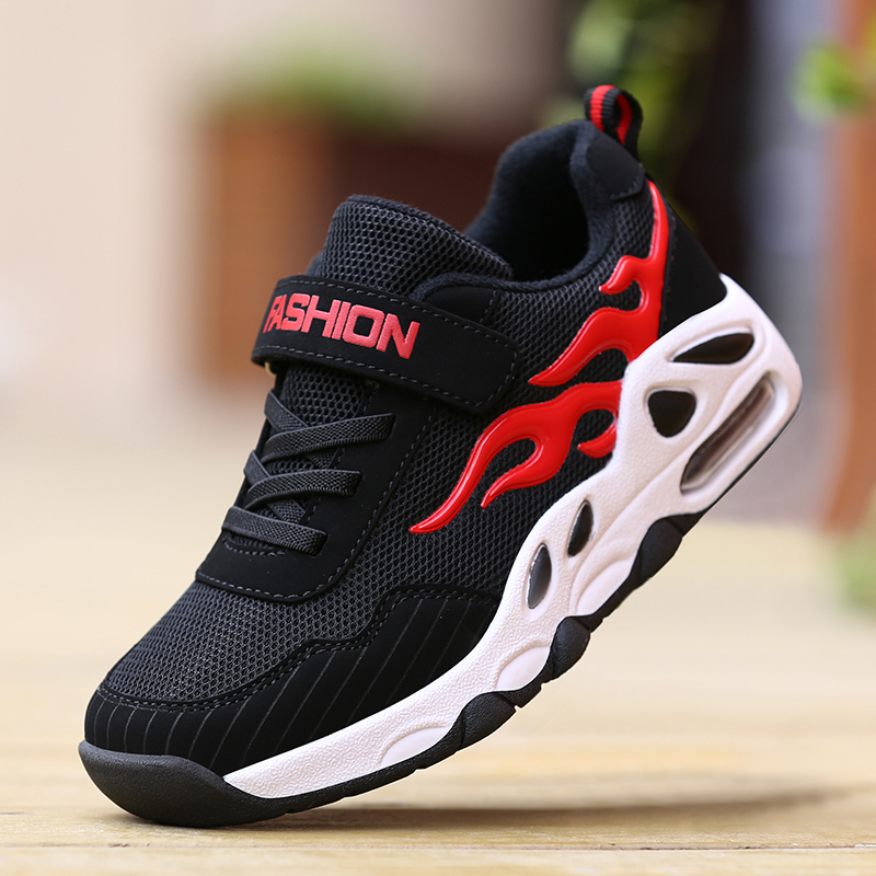Image 2 - ULKNN Children's sports shoes boys' 2019 breathable mesh casual breathable 6 primary school students 8 boys 10 years old-in Sneakers from Mother & Kids