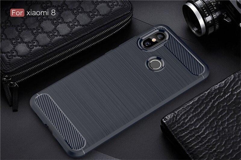 Soft Back Cover Case for Xiaomi 8 8SE Redmi 6 6A Pro (9)