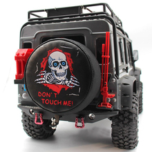 1PCS All-weather Vinyl Tire Cover DON'T TOUCH ME Spare Tyre Cover Garage Tires Case Storage Bag for 1/10 Traxxas TRX4 Defender