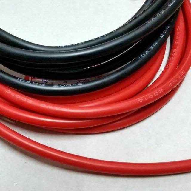 10AWG weichen hochtemperatur silikon draht 0.08mmx1050 kerndraht ...
