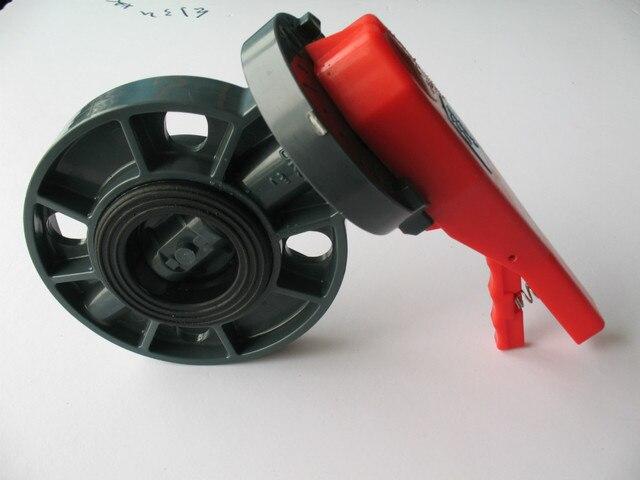 """pvc-u 6""""  butterfly valve"""