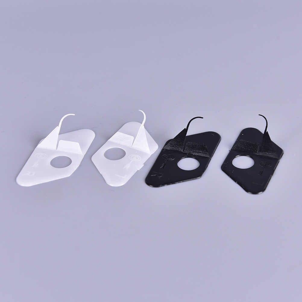 黒と白の色アローレストプラスチック後ろに反らすボウ右手 & 左手