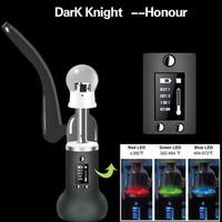 2017 Оригинал сухой травы электронные сигареты kit 2200 мАч Батарея Темный рыцарь чести VAPE mod Керамика Baker электронных сигарет