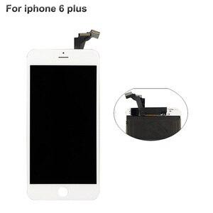 Image 3 - เกรด AAA LCD สำหรับ iPhone 6 5 S 5c 6 S PLUS จอแสดงผลด้วยหน้าจอสัมผัส Digitizer BEZEL FRAME ASSEMBLY สีขาว LCD สีดำสำหรับ iPhone 6