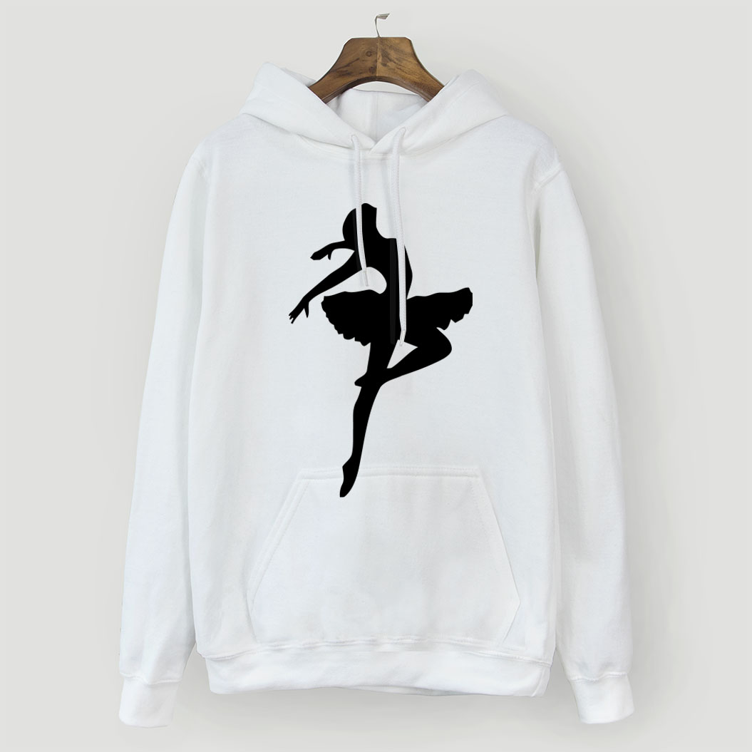 Fashion Sweatshirt For Women 2018 Hoodie Autumn Winter Clothes Dancing Ballet Girl Harajuku Women's Hoodies Korean Style Hoody