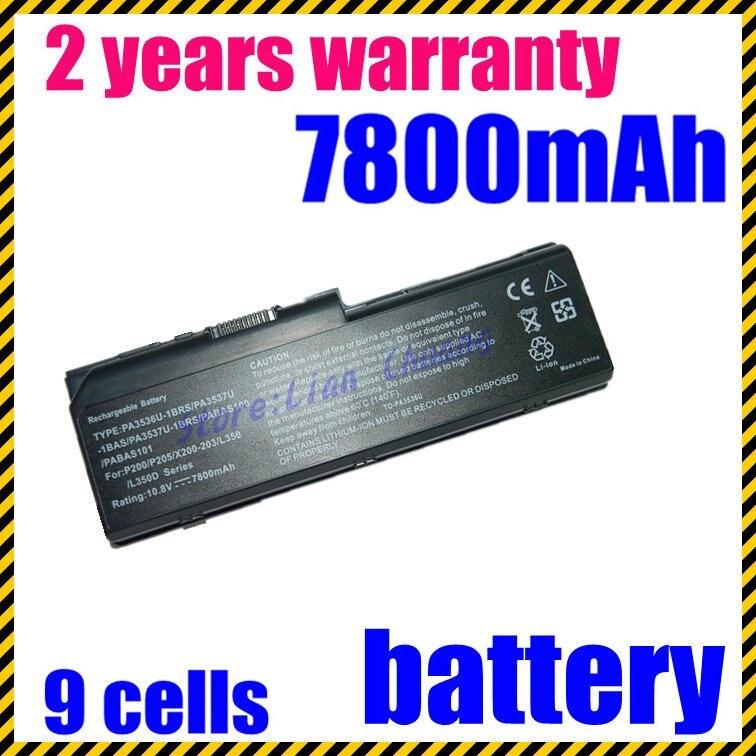 JIGU 6600mAh Laptop Battery FOR Toshiba Satellite L350 L350D L355 L355D P200 P200D P205 P205D P300D