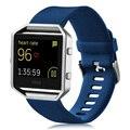 Banda Pulseira de Silicone Pulseira para Fitbit pulseira para Fibit Chama Chama Cinta Pulseiras com Número de Rastreamento azul cor preta