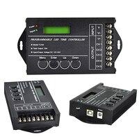 20A LED Dimmer DC 12V 24V 240W Adjustable Brightness LED Dimming Controller for Growing Lamp Stage Light Decoration