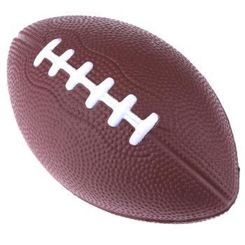 Mini Soft Standard PU Foam American Football Soccer Rugby Squeeze Ball Kids 1
