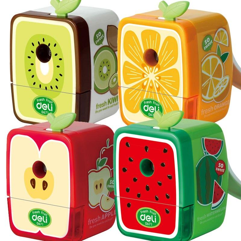 1 PC/Lot Cute Lovely Fruit-Shaped Pencil Sharpener, Watermelon & Kiwi & Apple & Orange,XBJ000011 PC/Lot Cute Lovely Fruit-Shaped Pencil Sharpener, Watermelon & Kiwi & Apple & Orange,XBJ00001