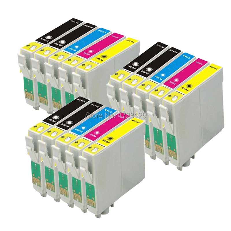 T1284 T1285 NOT original Epson 16 INK CARTRIDGES REPLAC T1281