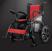 Factory Price Folding Safety Travel Electrical Wheelchair For Outdoor Activicities