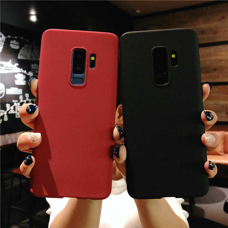 Sand Texture Frosted Silicone Case for OPPO R7 R7S R9 R9S R11 TPU Case A31 A33 A37 A39 A53 A57 A59 A77 A79 A83 A3 A5 A7 K1 Cover