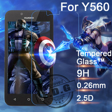 0 26mm 9H Explosion Proof Anti scratch LCD Tempered Glass Film For Huawei Y560 Screen Protector