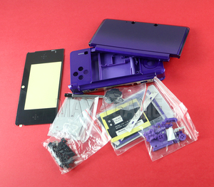 Image 5 - 1set Full Complete Housing Shell case with screen lens for 3DS Case Cover Replacement Repair Parts with Buttons kit+3M sticker