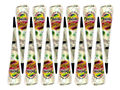 12 X White henna cone - indian temporary tattoo natural herbal body art for Bridal Decor & Wedding