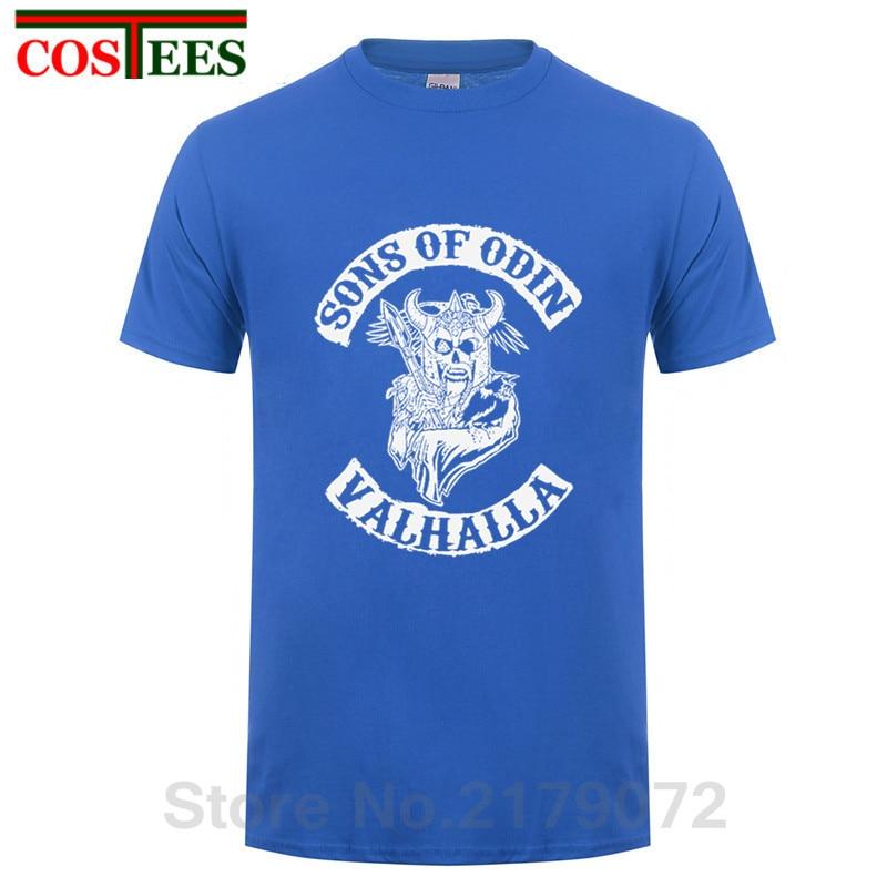 3bee3a4b Product name: Creative Skull design Sons of Odin Vikings Inspired T-Shirt  man Cotton Ragnar Lothbrok Valhalla Floki t shirt men vikings shirts