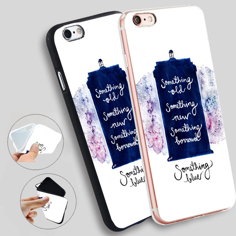 Minason Tardis Doctor Who Silicone Phone Cover For iphone 7 7plus 8 8plus X Case For iphone 5 5s SE 6 6S Plus TPU Phone Cases