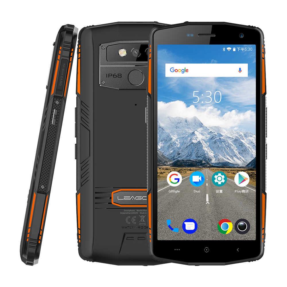 "LEAGOO X-Rover IP68 водонепроницаемый смартфон 5,72 ""6 ГБ 128 ГБ MTK6763 Восьмиядерный NFC Face ID 13MP двойная камера 5000 мАч 4G прочный телефон"