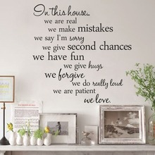цена на IN THE HOUSE wall stickers home decor adesivo de parede home decoration wallpaper wall sticker 56X56CM