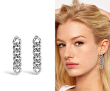 2019 rock Chain Earrings for women gold statement earrings