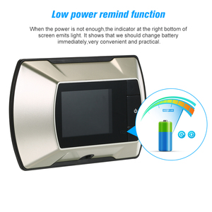 Image 5 - Беспроводной дверной глазок с ЖК экраном 2,4 дюйма TFT, цифровой электрический дверной глазок
