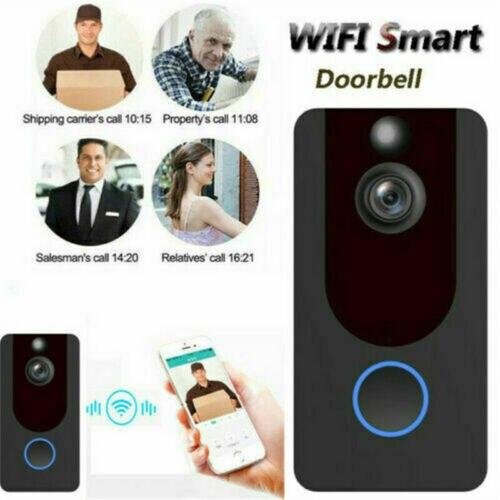 Новый видео дверной звонок 1080 P камера беспроводной Видео дверной телефон WiFi домофон пульт дистанционного управления