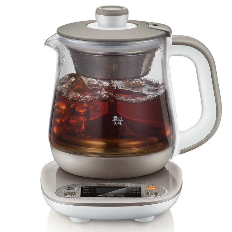 Full automatic and thickened glass steamed tea pot, pot/electric kettle yixing tea wholesale tank antique tea tea pot barrel unique full mixed batch