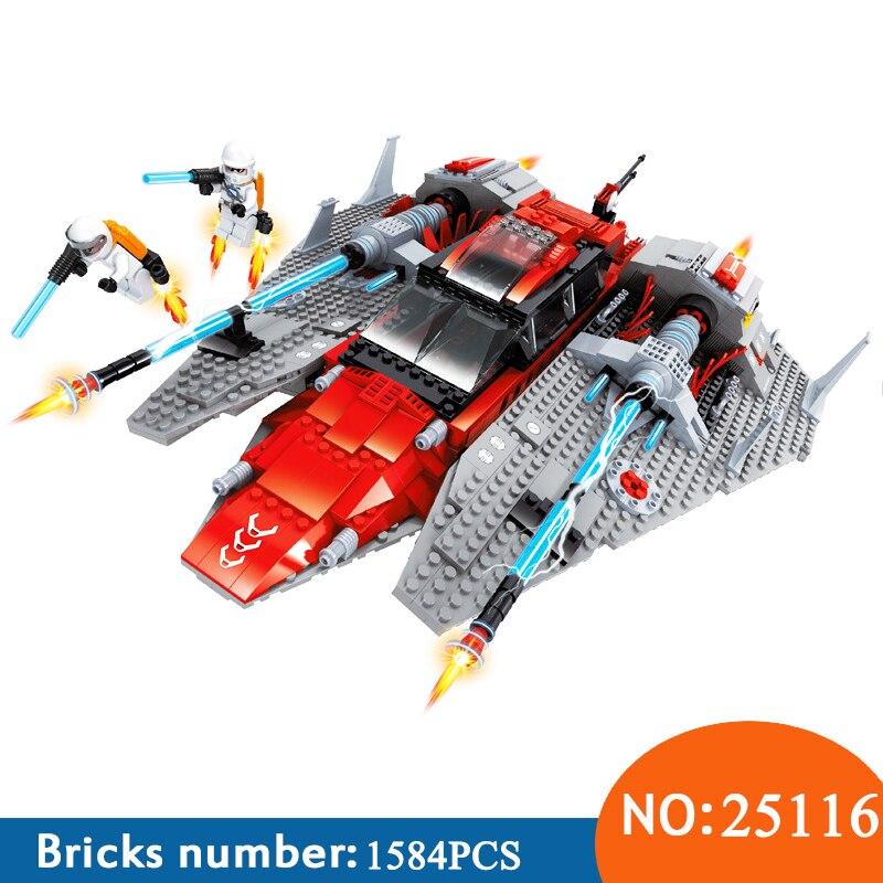 Ausini 25116 1584pcs Star Outer Space Ship Aerospace Building Blocks Toys For Children
