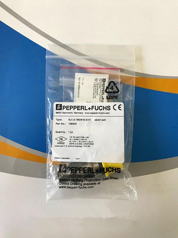 все цены на Original new 100% high-quality iImport accessories explosion-proof sensor switch NJ1,5-18GM-N-D-V1 inductive switch онлайн