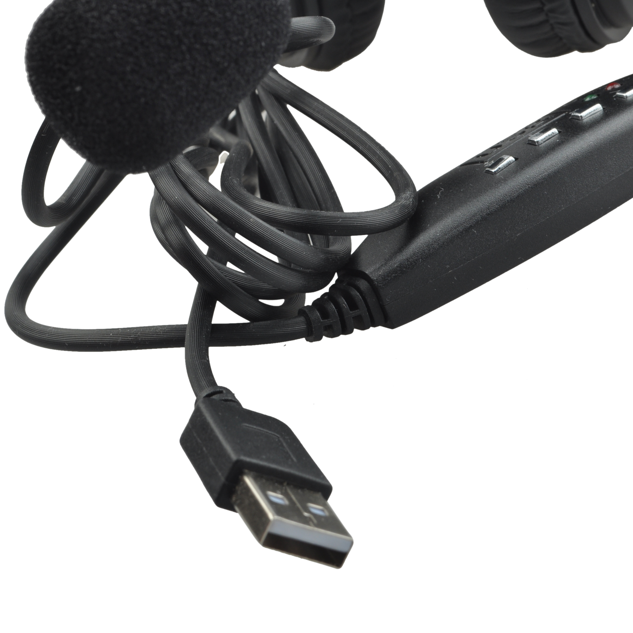 Q2 USB Stereo Headphone Earphone with MIC for Gaming Console Surround Sound PC Headset