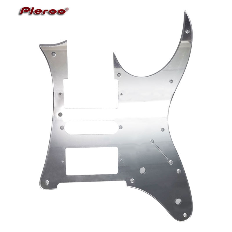 Pleroo Custom Guitar Parts - Mirror Pickguard For Ibanez RG 350 EX MIJ Guitar Pickguard HSH Humbucker Pickup Scratch Plate